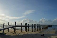 Pomeriggio dalla spiaggia Fotografia Stock Libera da Diritti