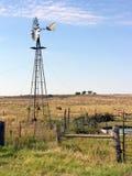 Pomeriggio del mulino a vento Fotografia Stock Libera da Diritti