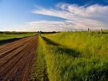 Pomeriggio di Backroad Fotografia Stock