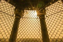 Pomeriggio Jama Masjid sole- fotografia stock libera da diritti