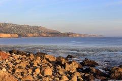 Pomeriggio pacifico a Palos Verdes, California fotografie stock
