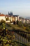 Pomeriggio a Praga Fotografia Stock Libera da Diritti