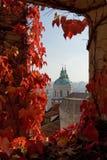 Pomeriggio a Praga Fotografia Stock