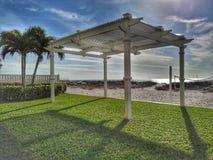 Pomeriggio soleggiato alla spiaggia Fotografia Stock