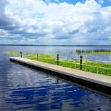 Pomeriggio sul lago Monroe Fotografia Stock Libera da Diritti