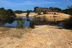 Pomezia硫磺在罗马附近的在意大利 免版税图库摄影