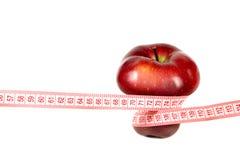 pomiar jabłczana czerwień Obraz Royalty Free