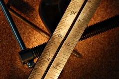 pomiar narzędzi Obrazy Stock