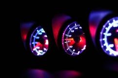 Pomiar prędkość Fotografia Royalty Free