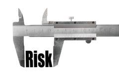 Pomiarowy ryzyko Zdjęcie Royalty Free