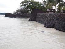 Pomice sulla spiaggia Fotografia Stock Libera da Diritti