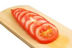 pomidor biurko Obrazy Royalty Free