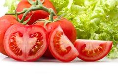 pomidor czerwony Zdjęcia Royalty Free