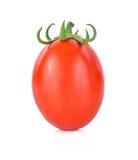Pomidor na biały tle Zdjęcie Stock