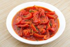 Pomidor pieczeń obraz stock