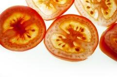 pomidor plastrach Zdjęcia Stock