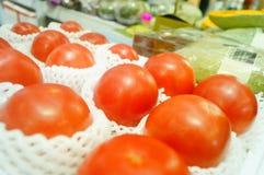 Pomidor, produkujący w Xinjiang, Chiny Obraz Stock