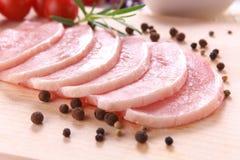 pomidor rozmarynów świeżego mięsa Obrazy Stock
