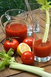 pomidor soku Obraz Royalty Free