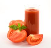 pomidor soku Fotografia Royalty Free