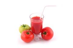 pomidor soku Zdjęcia Royalty Free