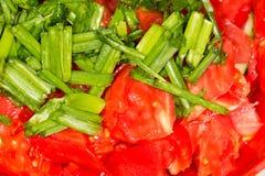 Pomidorowa braja Zakończenie fotografia stock