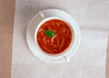 Pomidorowa de Zupa Imagens de Stock