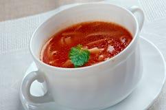 Pomidorowa de Zupa Foto de Stock