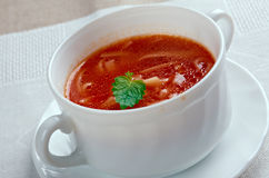 Pomidorowa di Zupa Fotografia Stock