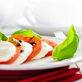 Pomidorowa mozzarella zdjęcie stock
