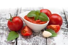 Pomidorowa pasta Zdjęcie Royalty Free