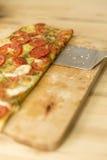 Pomidorowa pizza Zdjęcia Royalty Free