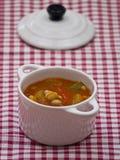 Pomidorowa polewka zdjęcie royalty free