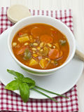 Pomidorowa polewka zdjęcia stock