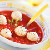 Pomidorowa polewka obraz royalty free
