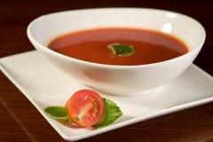 Pomidorowa polewka Fotografia Royalty Free