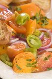 Pomidorowa sałatka Obraz Royalty Free