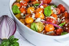 Pomidorowa sałatka Fotografia Stock