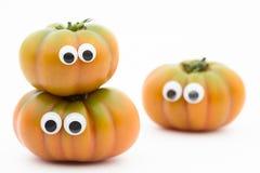 Pomidorowa twarz Zdjęcia Royalty Free