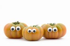 Pomidorowa twarz Obrazy Stock