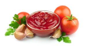 pomidorowe past pikantność Fotografia Royalty Free