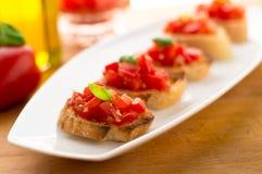 Pomidorowy Bruschetta Obraz Royalty Free