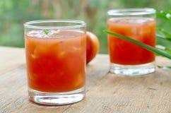 Pomidorowy owocowy sok Obrazy Royalty Free