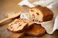 Pomidoru chleb zdjęcie royalty free