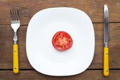 Pomidoru talerz Obraz Royalty Free