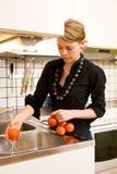 pomidory świeże pranie Zdjęcie Royalty Free