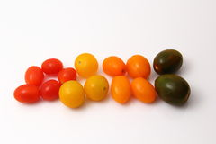 Pomidory czereśniowi obraz stock