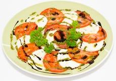 Pomidory i feta ser Obrazy Stock