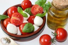 pomidory i mozzarella Fotografia Stock