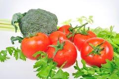 Pomidory seler i brokuły Zdjęcie Royalty Free